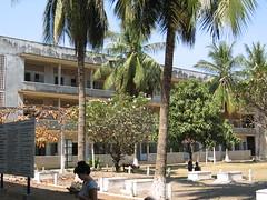 The Courtyard of Tuol Sleng Phnom Pehn