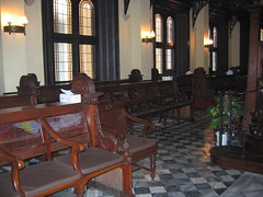 Pews of the Synagogue