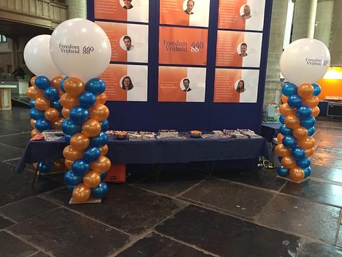 Ballonpilaar Breed Rond Universiteit Leiden