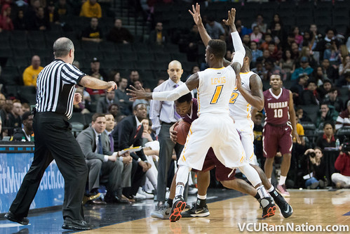 VCU vs. Fordham (A10 Tournament)