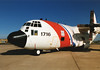 EGTE0011 - Lockheed HC-130H Hercules, United States Coast Guard, 1716, Exeter International Airport, circa 1994.