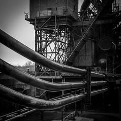 pipes (Andibart) Tags: duisburg thyssen ruhrgebiet bonjourtristesse stahlwerk ruhrpott landschaftsparkduisburg thyssenironworksinduisburgmeiderich