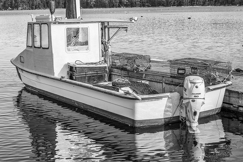 bw dock maine lobsterboat silverefexpro freepor tharbor