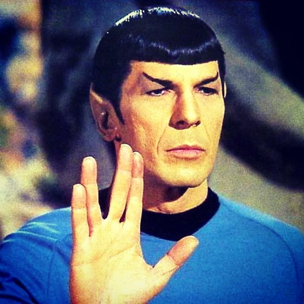 leonard nimoy  Live long and prosper get well mr Spock.