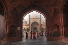 Delhi - Mosquee Jama Masjid (Philippe Kerignard) Tags: masjid rajasthan inde mosque jama