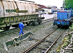 Rseau breton, gare de Carhaix (LOUIS TOSSER) Tags: train de gare bretagne chemin fer breton sncf rseau finistre carhaix