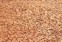 Bricks Build Wall Beyond Cliff (Ali Chatai   Photo.blog) Tags: pakistan dessert photography fort ali derawar chatai alichatai