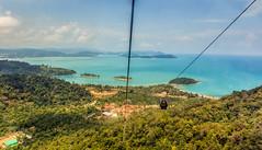 Descent to Earthly Heaven! (mshamaa82) Tags: sea seascape mountains nature clouds landscape dubai natural uae malaysia cablecar kuala langkawi lumpur