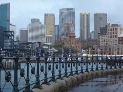 La antigua torre del reloj del puerto, y modernos edificios financieros. Sidney. Nueva Gales del Sur. Australia (escandio) Tags: australia varios sidney 2016 nuevagalesdelsur