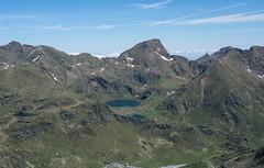 Widok z Pic Cataperdis na Północ
