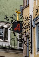 Sign Gmunden Austria (Blackburn lad1) Tags: sign metal austria text