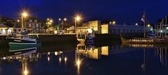 Port de Pche de Grandcamp-Maisy Calvados (letang.gilles) Tags: port de pche grandcampmaisy calvados bassenormandie france reflection effetmiroir canon100d longexposure longuepose night bateau chalutier