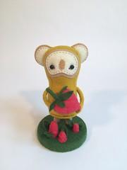 (MelissaSueArt) Tags: plush handmade softsculpture arttoy designertoy embroidery stitched stuffed wootberries fauxtaxidermy stopmotion koala kawaii
