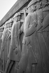 The March To War (ClydeHouse) Tags: bw liverpool artdeco cenotaph warmemorial limestreet byandrew