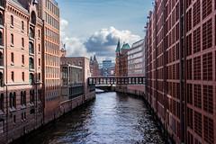 Speicherstadt I (*Capture the Moment*) Tags: water architecture wasser hamburg facades architektur speicherstadt fassaden 2016 elemente sonynex7 sonye18200mmoss