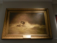 The Inchcape Bell by James A Aitken(1846-1897), Signal Tower Museum, Arbroath, Aug 2016 (allanmaciver) Tags: james aitken 1846 1897 oil canvas paintings display sea ferocity arbroath angus council inchcape bell paitning artist allanmaciver