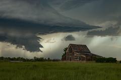 Unstable Vista (gerrypocha) Tags: storm abandoned lightning prairie saskatchewan derelict thunder unstable