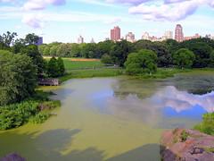 Turtle Pond, Central Park (kusula) Tags: turtlepond centralpark