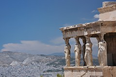 Kariatydy (bazylek100) Tags: grecja greece e  ateny athens akropol acropolis erechtejon erechtheion ancient kariatydy caryatids sculpture