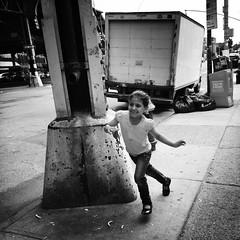 Sami (ShelSerkin) Tags: street nyc newyorkcity portrait blackandwhite newyork candid streetphotography squareformat gothamist iphone mobilephotography iphoneography shotoniphone hipstamatic