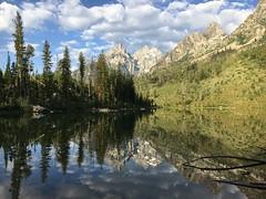 String Lake (Caretta (JWarner)) Tags: wyoming nationalpark reflection lake grandtetonnationalpark stringlake tetons