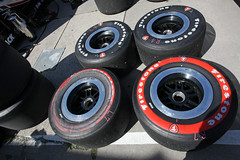 scuff tires (scienceduck) Tags: scienceduck 2016 july indy indycar irl indyracingleague tire scuff pits toronto tdot ontario canada