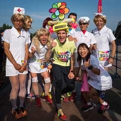 Summer Night Run at Saitama Stadium 2430302.jpg (Joseph Tame) Tags: saitamastadium running summernightrun people friends relayrace