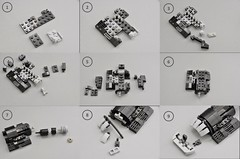 T-70 X wing Instructions (Engines) (Inthert) Tags: lego moc star wars t70 ship instructions resistance x wing bb8 poe force awakens