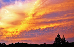 Sunset in the Green Mountains of Vermont (macnetdaemon) Tags: outdoor nature sunset mountains vermont beautiful color magnificent shot clouds light contrast fabulous green