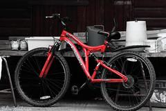 bike (raven fandango) Tags: red bike bicycle push british canon eos 70d filtered filter july 2016 england uk hertfordshire herts kit lens photography photo stevenage transport vehicle pedal power tamaron 150 600