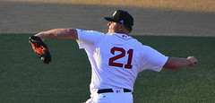 ROGER CLEMENS DELIVERS (TV Director) Tags: rogerclemens baseball redsox pitcher wichita sports