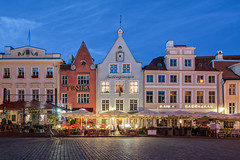 Take me out tonight (McQuaide Photography) Tags: tallinn estonia europe northerneurope sony a7rii ilce7rm2 alpha mirrorless 1635mm sonyzeiss zeiss variotessar fullframe mcquaidephotography adobe photoshop lightroom tripod manfrotto light bluehour dusk twilight outdoor outside building city longexposure capitalcity street illuminated wideangle old oldstreet oldtown cobbled cobbles pedestrian atmosphere charm lowlight streetlight pavement sidewalk architecture timeless cobblestone medieval historic history unesco worldheritagesite house terrace raekojaplats townhallsquare restaurant troika square wideanglelens