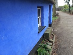 Ireland 2016 (Tyler Knorr) Tags: camera iphone countyclare oldfolktown town folk old house blue irelans castle bunrattycastle