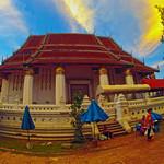 Ayutthaya in golden light (III) thumbnail