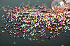 Project 366 - 8/13/2016 - 226/366 (cathy.scola) Tags: project365 project366 odc sprinkles spill colorful candy dof