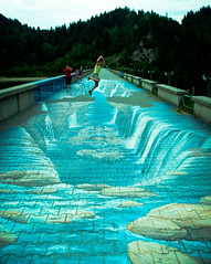 leapo (Robin Niedojadlo) Tags: poland travel find new things explore awesome painting perspective jumping damn
