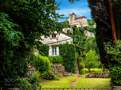 Cottage View (southjerseseyhvac) Tags: 500px green france church europe cottage view holidays lot medieval tourism eglise chateau eu vert vacances vieux fr visiting midipyrenees michael glascock beautiful villages beaux de st cirq la popie