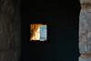 Window to nature (lorenzoviolone) Tags: building d5200 dof dslr fujiastia100f nikon nikond5200 reflex vsco vscofilm window abandoned bricks depthoffield mountain pointofview pov shelter streetphoto streetphotocolor streetphotography travel:malta=aug2016 mgarr malta fav10