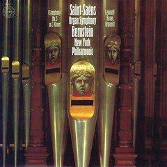 "Saint-Saëns Symphony 3 ""Organ"" - Bernstein Columbia US 1 (sacqueboutier) Tags: vintage vinyl vinyllover vinylcollection vinylnation vinylcollector lp lps lplover lpcollection lpcover lpcollector lpcoverart records record audiophile classical classicalmusic"