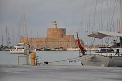 St. Nicholas Fort (Pedro Costa Ferreira) Tags: rhodes rhodesisland fort stnicholas mandraki