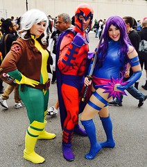 DSC_0430 (Randsom) Tags: nycc 2016 newyorkcomiccon nycomiccon javitscenter october nyc newyorkcity cosplay costume fun comicbooks comicconvention marvelcomics xmen superhero hero mutant groupshot group team people heroine superheroine magneto rogue psylocke spandex wig colorful redlips female
