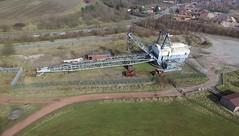 St Aidan's Bucyrus Erie Oddball (r44flyer) Tags: bucyrus erie dragline walking oddball coal mining st aidans leeds great preston yorkshire country park clinchfield be1150