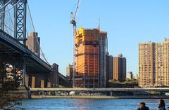 IMG_9570 (kz1000ps) Tags: newyorkcity nyc manhattan architecture construction realestate development cityscape urbanism dumbo brooklyn waterfront eastriver skyline tower skyscraper manhattanbridge 250southstreet extell lowereastside crane