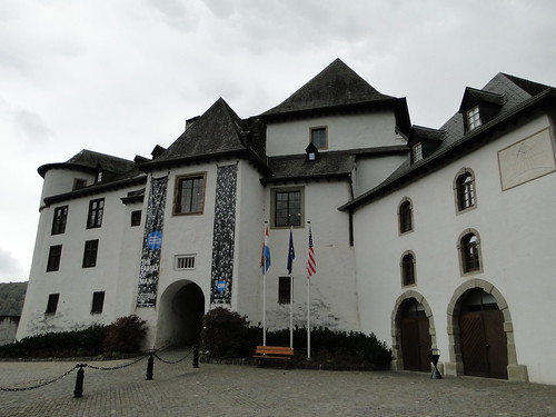 Front of Clervaux castle