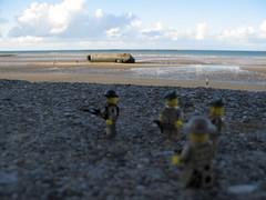 Commando N4 - FFL (Franckfbe) Tags: lego extrieur ffl normandie normandy dday ww2 soldats