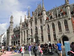 Provincial Government buildings (Joop van Meer) Tags: bruges brugge 2016 grotemarkt provinciaalhof