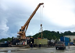Cutter Sequoia Western, Central Pacific fisheries deployment (Coast Guard News) Tags: 225 cat d14 palau sequoia underway westernpacific wlb pw