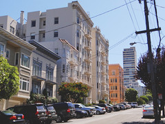 Hyde St @ San Francisco, Sep, 2016 (Lucas Vargas) Tags: san francisco sf united states us estados unidos lombard street bay fishermans walf hyde powell union square photgraphy trip vacation 2016 sony hx100v cable car