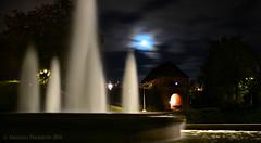 The Magical Fountain (Amberinsea Photography) Tags: fountain longexposure city night halmstadatnight norreport water park norrekattspark sweden amberinseaphotography