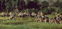 The Hunt (torq42) Tags: 15mm 18mm fantasy lordoftherings wargame dragonrampant tabletop middleearth warhammerfantasy orcs dwarves